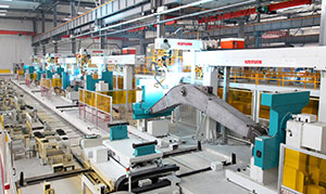 Robotic Medium/Thick Plate Welding Systems and Lines
