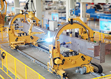 Robot Welding System for Heavy Duty Steel Structure