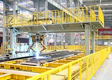Bridge U-Shaped Rib, Diaphragm Robot Welding System