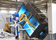 Robot Welding System for Explosion-Proof Electric Apparatus Electronic Control Cabinet