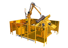 Robot Welding System for the Hydraulic Bracket Linkage of Coal Mining Machinery