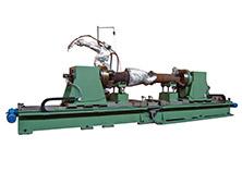 Internal Mixer Rotor Surfacing Robot System