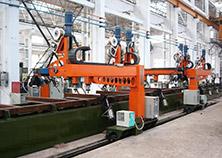 Railway Wagon Automatic Welding Line