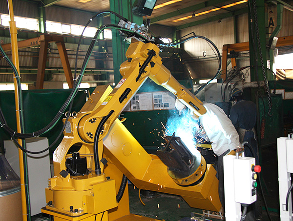 导向轮支架、座圈机器人焊接系统