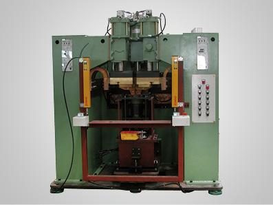 压缩机壳顶托架阻焊专机