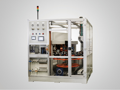 汽车减震器连杆定位套焊接及强度检测设备