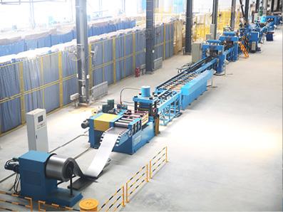 电力变压器散热器片自动焊接生产线