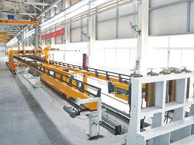 客车顶蒙皮自动焊接生产线