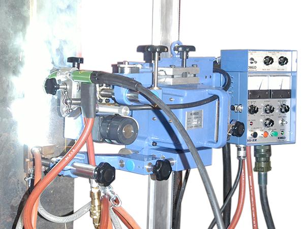 造船用气电立焊