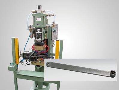 闭门器门轴支架焊接设备