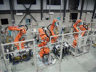 汽车车身部件机器人焊接系统