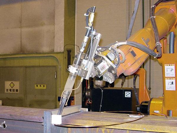 机器人清渣系统