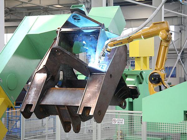 前车架机器人焊接系统