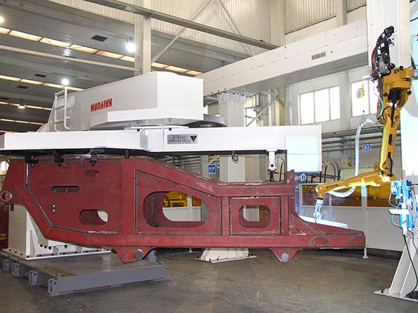 履带起重机-转台机器人焊接系统
