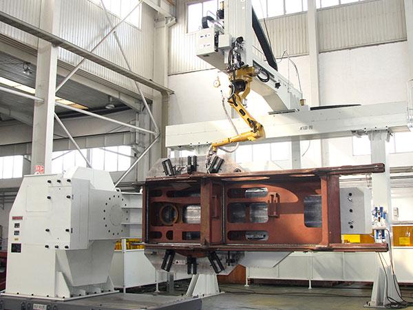 履带起重机-转台机器人焊接系统-系统整体