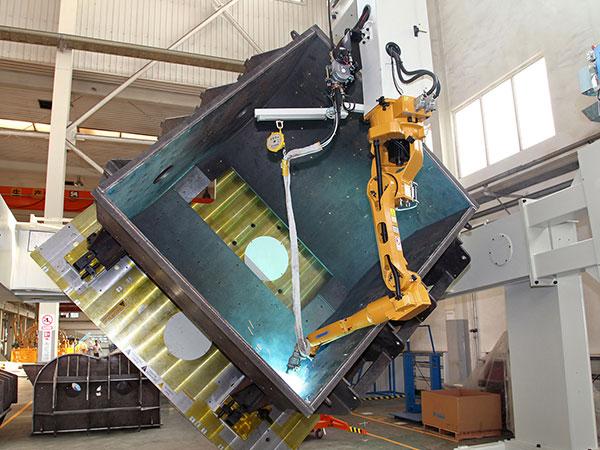 搅拌锅机器人焊接系统