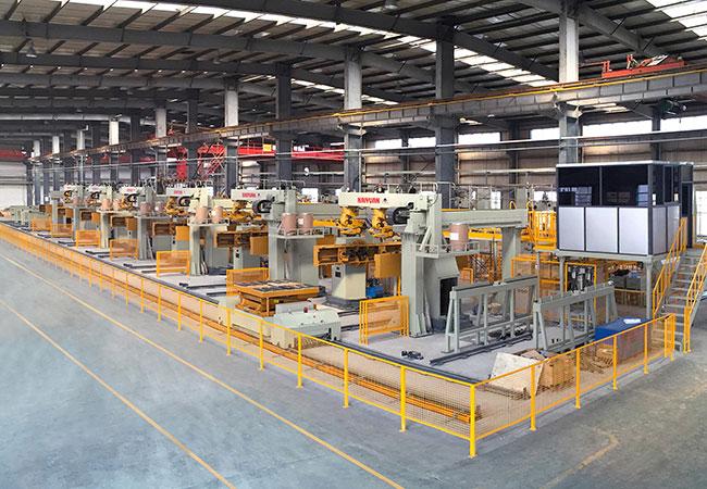 连杆智能化柔性焊接生产线