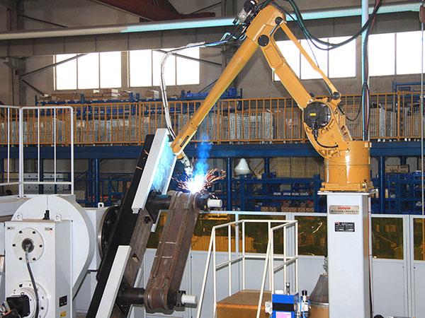 单连杆机器人焊接系统