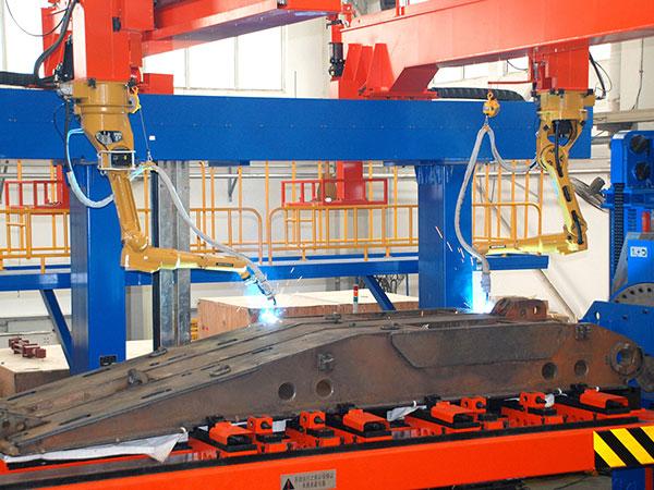 顶梁机器人焊接系统