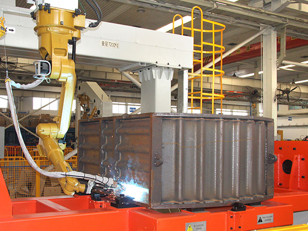 舱体机器人焊接系统