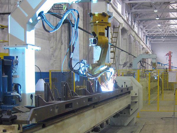 夹件机器人焊接系统(单机器人)