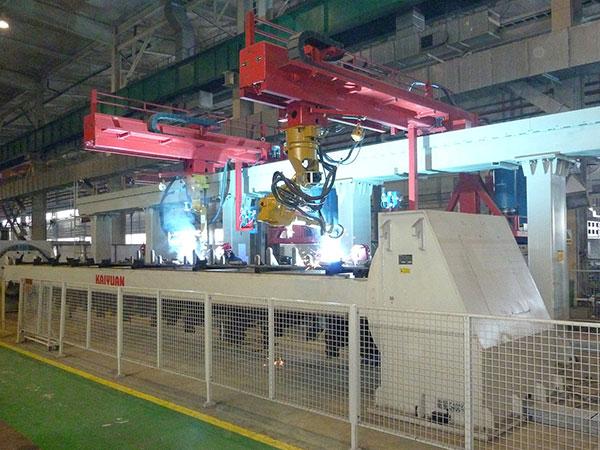 夹件机器人焊接系统(双机器人)