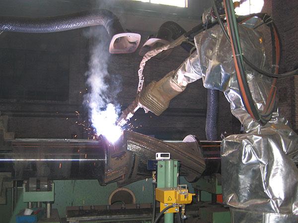 转子机器人焊接系统