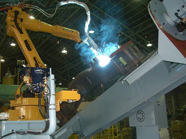 侧梁机器人焊接系统