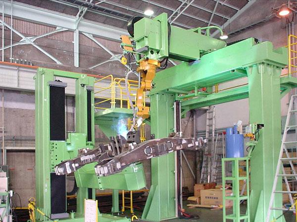 转向架机器人焊接系统