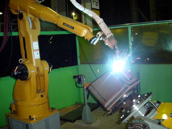 小件机器人焊接系统