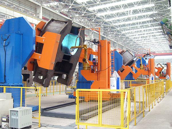 机座机器人焊接系统