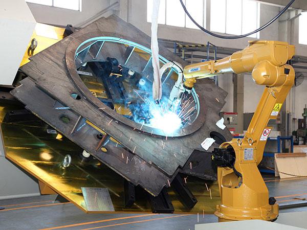 中、小型回转支架机器人焊接系统