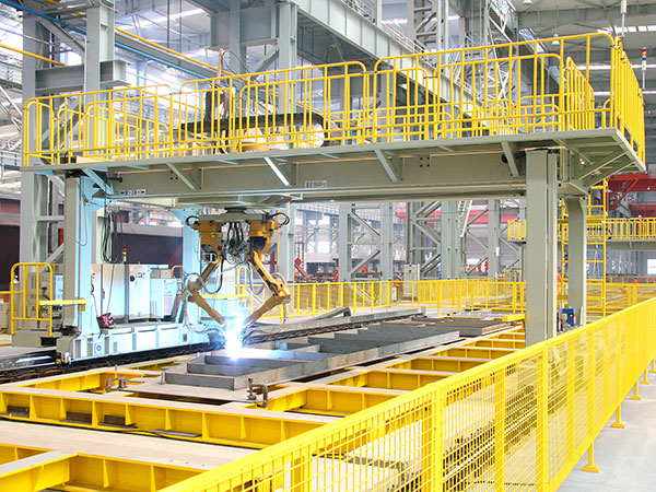 横隔板单元机器人焊接系统(双机器人)