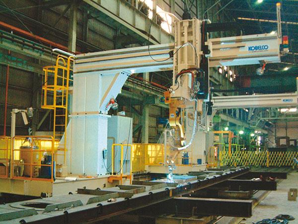 横隔板单元机器人焊接系统(单机器人)