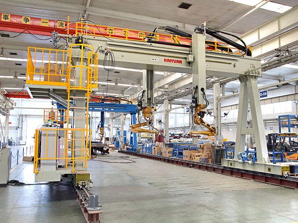 U肋板单元机器人焊接系统(双机器人)