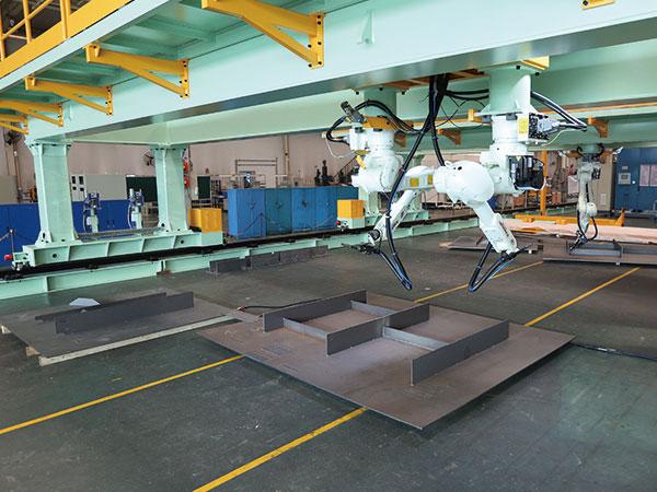 小组立机器人焊接系统