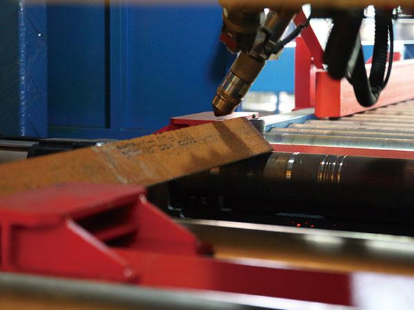机器人型材切割系统