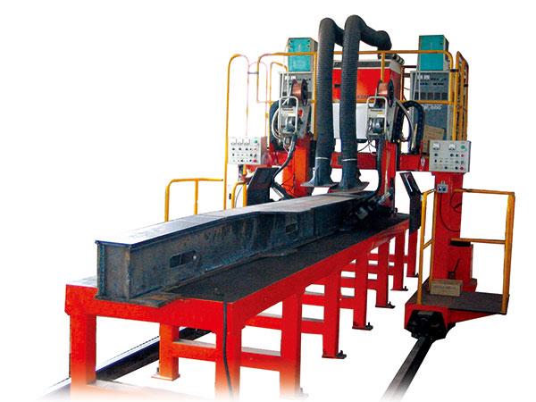 构架侧梁自动焊接生产线