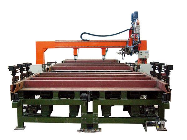 敞车端墙自动焊接生产线
