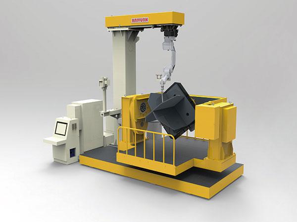 角钢塔塔脚机器人智能焊接系统