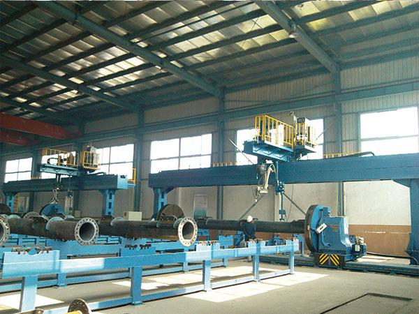 钢管塔主管自动焊接生产线