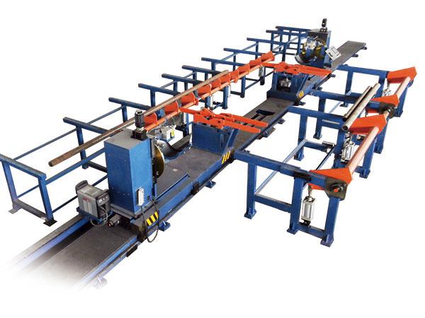 钢管塔支管自动焊接生产线