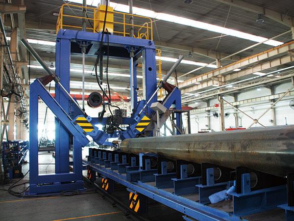 钢管合缝焊接一体机