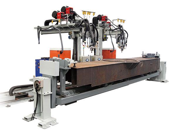 车架后段主焊缝焊接系统