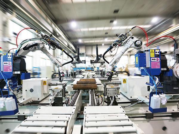 托辊制造自动化生产线