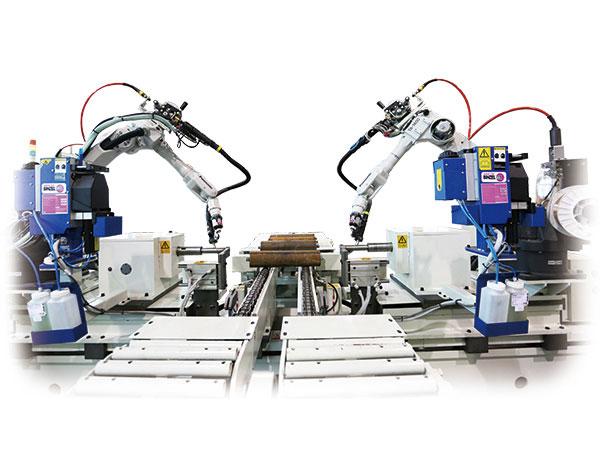 机器人托辊自动焊接系统