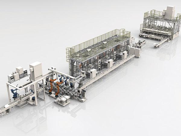 热水器内胆智能化柔性焊接生产线