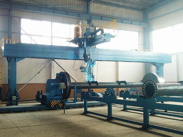 管板机器人智能焊接系统