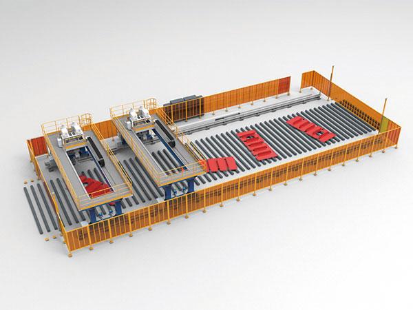 中型结构件智能焊接系统