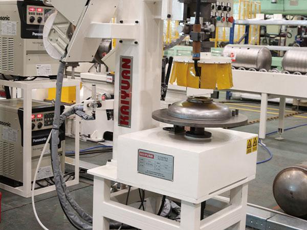 热水器内胆自动焊接生产线